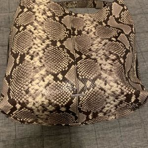Rebecca Minkoff snake skin shoulder bag